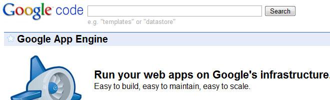 Free Google Web Hosting