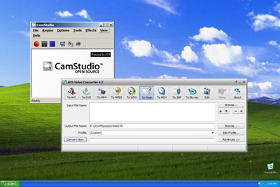 How to make CamStudio work (use AVS)
